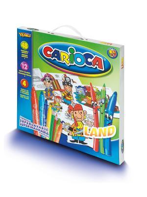 Набор для рисования CARIOCA LAND Universal. Цвет: синий