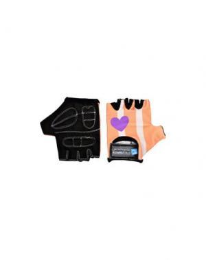 Перчатки CRAZY SAFETY. Цвет: лососево-розовый