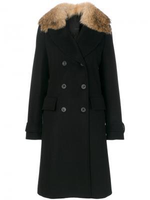 Пальто Delmere Belstaff. Цвет: чёрный