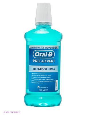 Ополаскиватель полости рта безалкогольный, Pro-Expert Мульти-Защита, 500 мл ORAL_B. Цвет: голубой