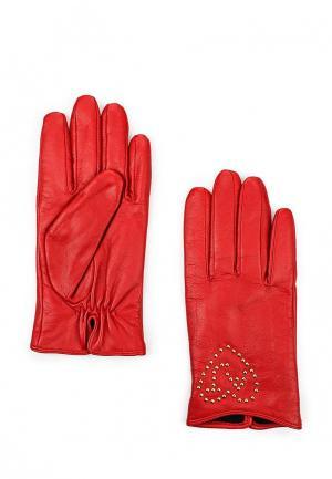 Перчатки Armani Jeans. Цвет: красный