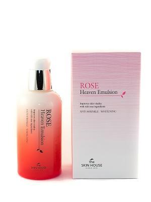 Эмульсия для лица с экстрактом розы The Skin House. Цвет: бледно-розовый