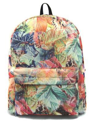 Рюкзак Creative. Цвет: зеленый, коричневый