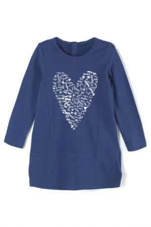 Платье Coccodrillo. Цвет: темно-синий