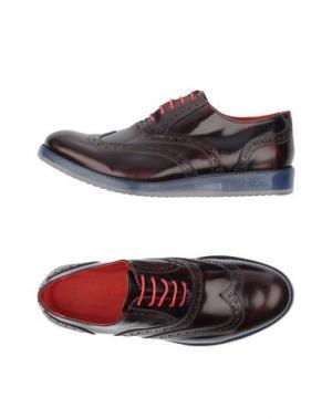 Обувь на шнурках GOLD BROTHERS. Цвет: красно-коричневый