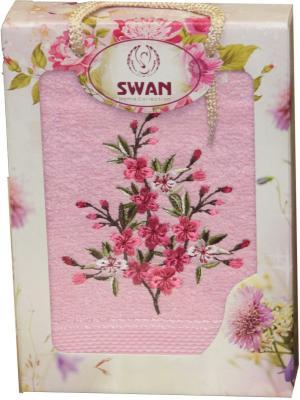 Полотенце в коробке ЛЮКС, дизайн Малина 1 шт. (50*90) 100% хлопок Dorothy's Нome. Цвет: розовый