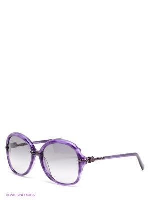 Солнцезащитные очки John Galliano. Цвет: сиреневый