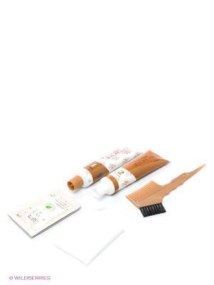 Крем-краска для волос с хной № 6N (Light Chestnut) Richenna. Цвет: коричневый