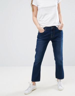 Waven Узкие джинсы бойфренда Erika. Цвет: синий