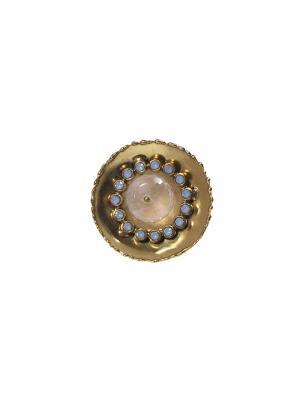 Кольцо Claudio Canzian. Цвет: золотистый, голубой, розовый