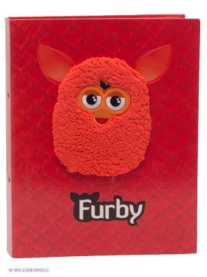 Папка для рисунков Furby. Цвет: красный