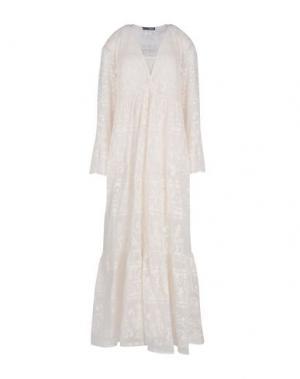 Длинное платье .TESSA. Цвет: слоновая кость