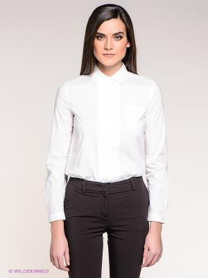 Рубашка Stefanel. Цвет: белый