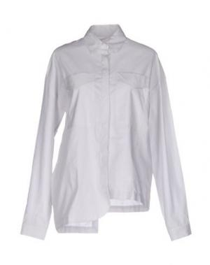 Pубашка OSTWALD HELGASON. Цвет: светло-серый