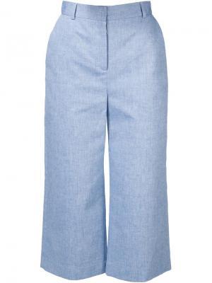 Широкие брюки Esme Vilshenko. Цвет: синий