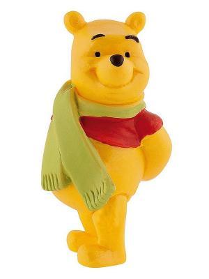Винни с шарфом Bullyland. Цвет: желтый