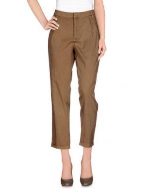 Повседневные брюки PART TWO. Цвет: хаки