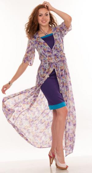 Комплект (платье + кардиган) Modeleani