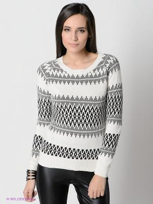 Джемпер Vero moda. Цвет: черный, молочный