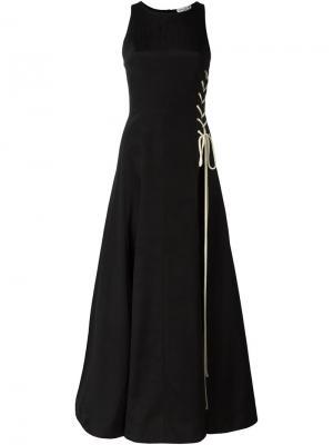 Вечернее платье Natasha Zinko. Цвет: чёрный
