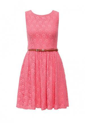 Платье Yumi. Цвет: розовый