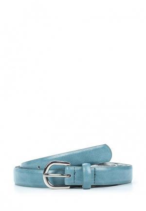 Ремень Violeta by Mango. Цвет: голубой