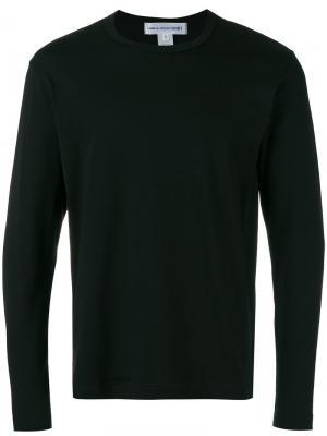 Logo back print T-shirt Comme Des Garçons Shirt. Цвет: чёрный
