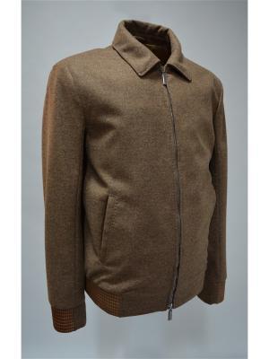 Куртка Bos Bison. Цвет: коричневый