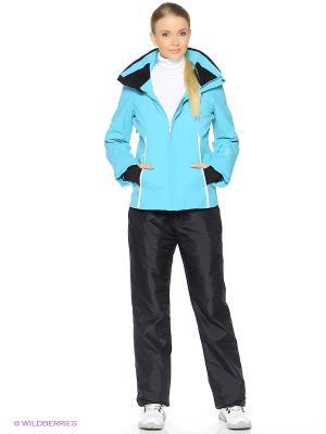 Куртка HALTI. Цвет: бирюзовый