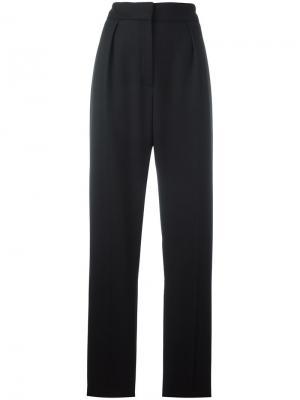 Плиссированные брюки с завышенной талией Lanvin. Цвет: чёрный