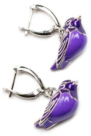 Серьги CHANTAL. Цвет: фиолетовый
