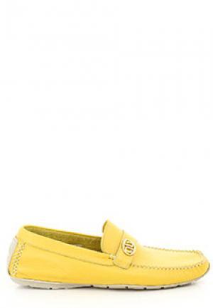 Мокасины ALDO BRUE. Цвет: желтый