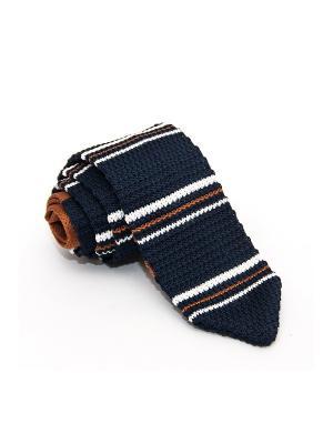 Галстук Churchill accessories. Цвет: черный, темно-синий, синий, темно-коричневый, темно-бордовый, темно-красный, терракотовый, бордовый, коричневый, белый