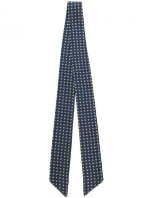 Шарф с вышивкой Essentiel Antwerp. Цвет: синий