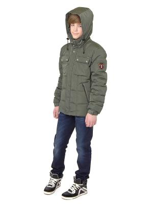 Куртка Sabotage. Цвет: хаки