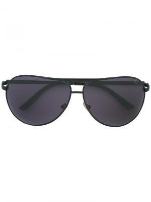 Солнцезащитные очки-авиаторы Marc Jacobs. Цвет: чёрный