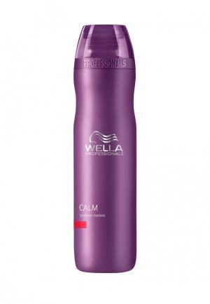Шампунь Wella. Цвет: фиолетовый
