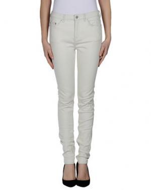 Джинсовые брюки BLK DNM. Цвет: слоновая кость