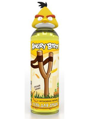 Гель для душа  интенсивное питание (жёлтая птица) ANGRY BIRDS. Цвет: желтый