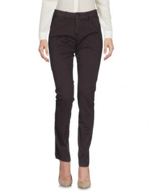 Повседневные брюки CRUCIANI. Цвет: темно-коричневый