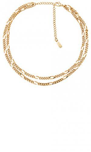 Ожерелье portofino Natalie B Jewelry. Цвет: металлический золотой