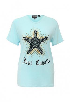 Футболка Just Cavalli. Цвет: мятный