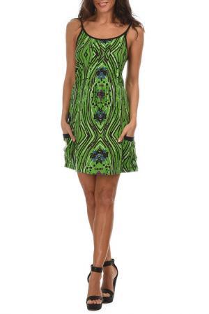 Платье Aller Simplement. Цвет: зеленый