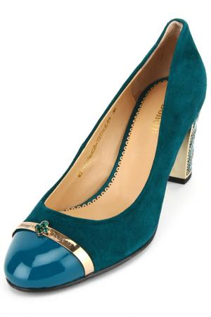Туфли BONETTI. Цвет: зеленый