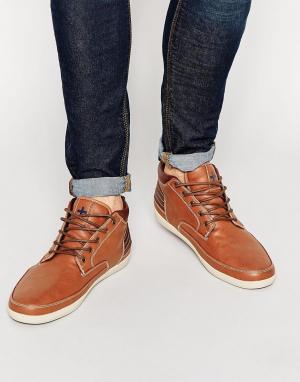 Ones + Twos Светло-коричневые кроссовки. Цвет: рыжий