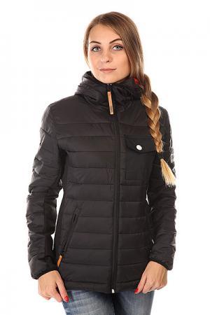 Пуховик женский Colour Wear Cub Jacket Black CLWR. Цвет: черный