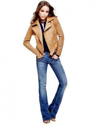 Куртка GUESS. Цвет: бежевый