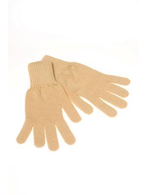 Перчатки Shapkoff. Цвет: кремовый