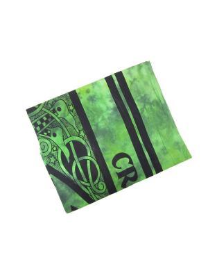 Покрывало 200 х 140 см ETHNIC CHIC. Цвет: черный, бирюзовый, зеленый