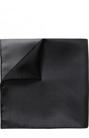 Шелковый платок Lanvin. Цвет: серый